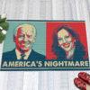 1 Indoor Outdoor Doormat Americas Nightmare Joe Biden Kamala Harris Indoor Doormat