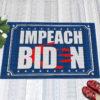 1 Indoor Outdoor Doormat Anti Biden Blood On His Hands Bloody Hand Impeach Biden Indoor Doormat