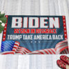 1 Indoor Outdoor Doormat Biden Resign In Disgrace Trump Take American Back Outdoor Indoor Doormat