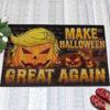 1 Indoor Outdoor Doormat Trumpkin American Make Halloween Great Again Doormat
