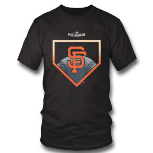 1 T Shirt San Francisco Giants Fanatics Branded 2021 Postseason Around the Horn T Shirt