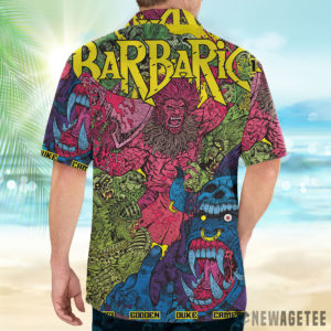2 Button Up Shirt Barbaric Maria The Wolf Variant