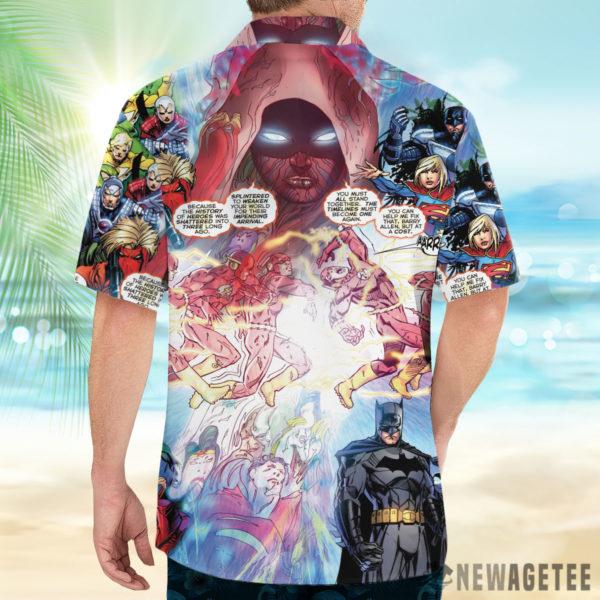 2 Button Up Shirt Flash And Pandora Merging Worlds Prime Earth Pandora DC