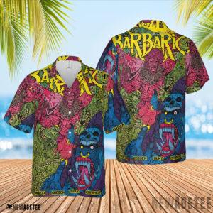 3D Shirt Barbaric Maria The Wolf Variant