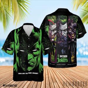 3D Shirt Batman Three Jokers