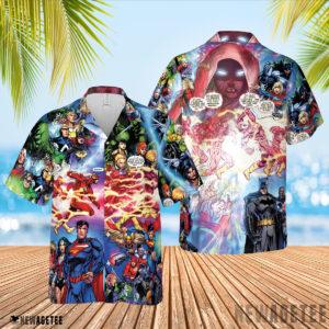 3D Shirt Flash And Pandora Merging Worlds Prime Earth Pandora DC