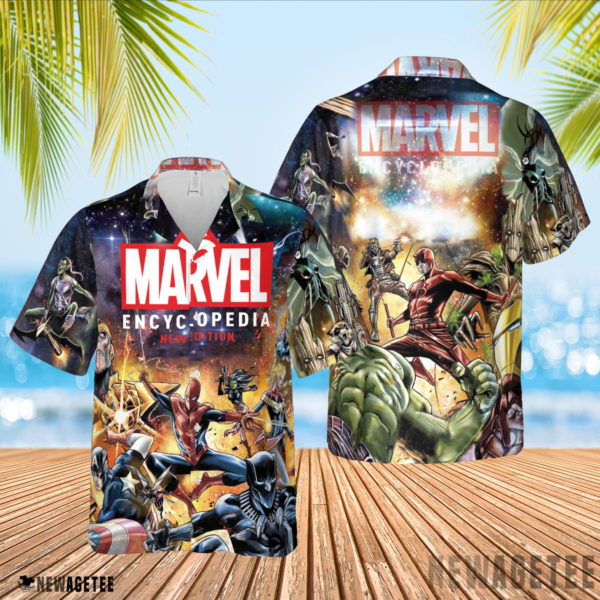 3D Shirt Marvel Encyclopedia New Edition