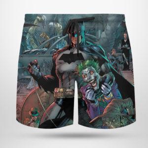 4 Beach Shorts Batman Detective Comics