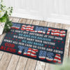 4 Decor Outdoor Doormat No Soliciting We Wont Buy Anything at The Door We Have Our Religion Political Doormat