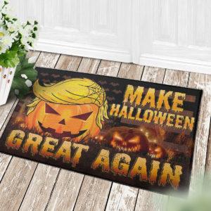4 Decor Outdoor Doormat Trumpkin American Make Halloween Great Again Doormat