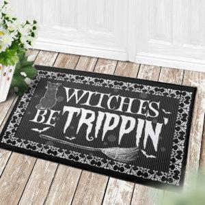 4 Decor Outdoor Doormat Witches Be Trippin Witches Halloween Doormat
