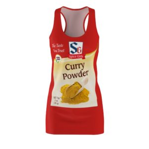 Curry Powder Spice Girls Group Halloween Costumes Dress