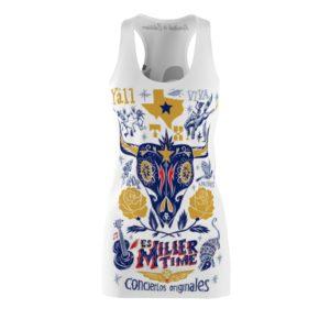 Miller Lite It's Miller Time In Texas Costume Dress
