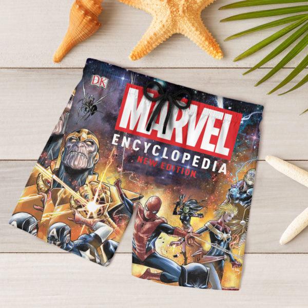 5 Shorts Marvel Encyclopedia New Edition