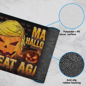 6 Rug Trumpkin American Make Halloween Great Again Doormat