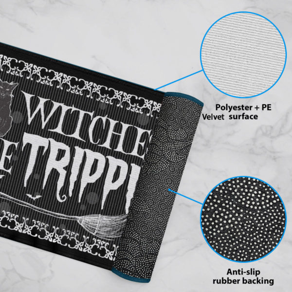 6 Rug Witches Be Trippin Witches Halloween Doormat