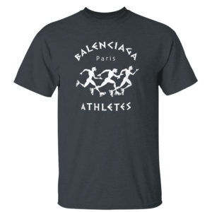 Dark Heather T Shirt Balenciaga Paris Athletes Shirt Hoodie