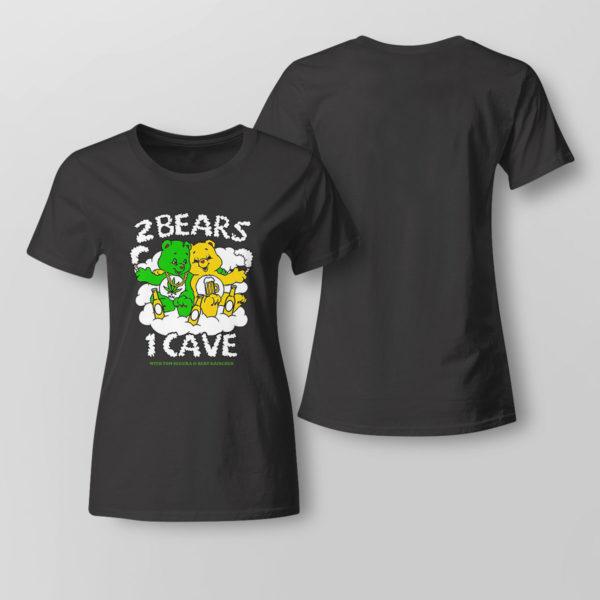 Lady Tee 2 Bears 1 Cave Merch Ymh T shirt