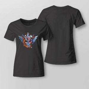 Lady Tee Cody Rhodes Backdraft Wiki shirt