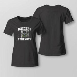 Lady Tee Raiders Strength Shirt Raiders Derek Carr Roots For Darren Waller After Drug Problem