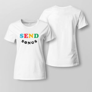 Lady Tee Send songs sweatshirt
