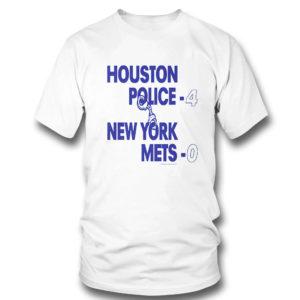T Shirt Houston police 4 new york mets 0 shirt
