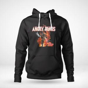 Unisex Hoodie Angry Runs T Shirt Nfl T shirt