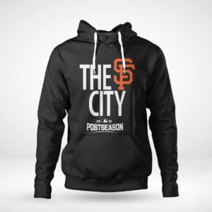 Unisex Hoodie Mens San Francisco Giants Black 2021 Postseason Authentic Collection Dugout T Shirt