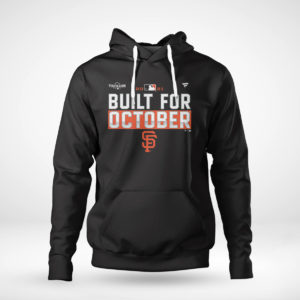 Unisex Hoodie San Francisco Giants Fanatics Branded Black 2021 Postseason Locker Room T Shirt