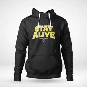Unisex Hoodie Stay Alive Crime Junkie T Shirt