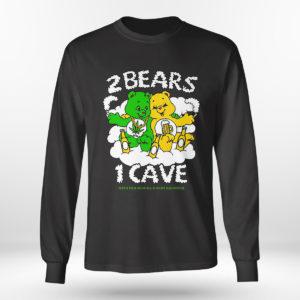 Unisex Longsleeve shirt 2 Bears 1 Cave Merch Ymh T shirt