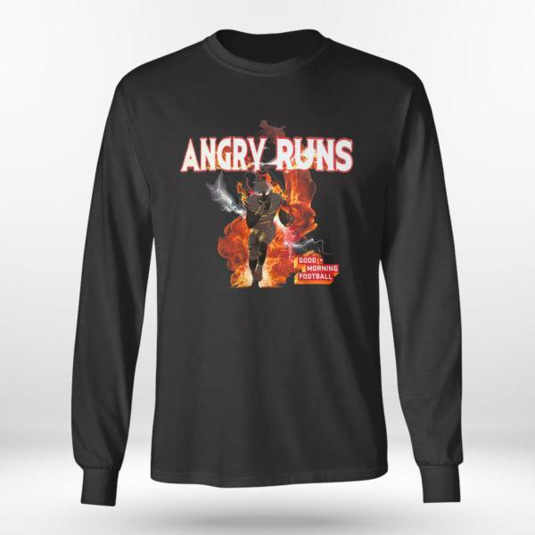 Unisex Longsleeve shirt Angry Runs T Shirt Nfl T shirt