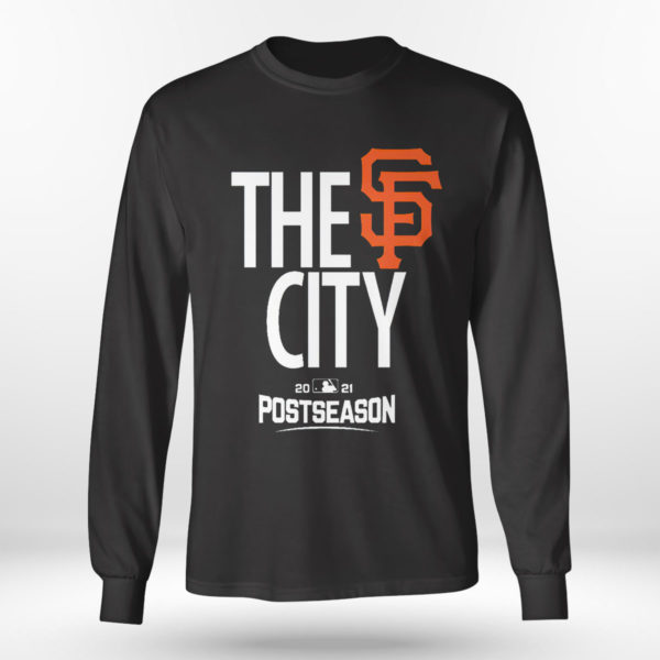 Unisex Longsleeve shirt Mens San Francisco Giants Black 2021 Postseason Authentic Collection Dugout T Shirt