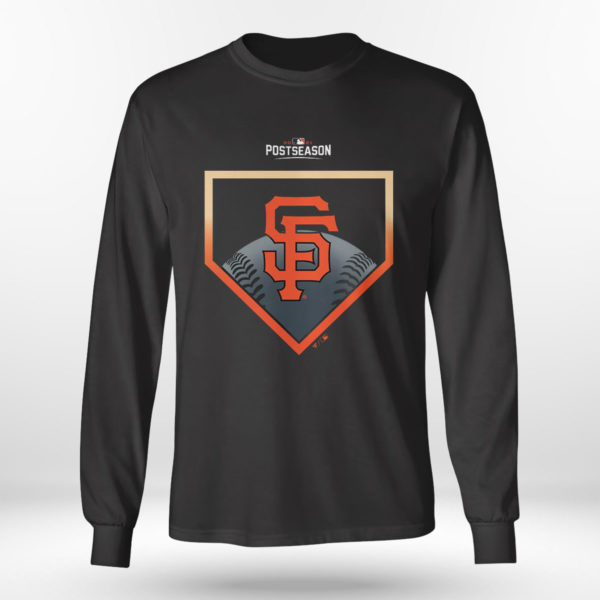Unisex Longsleeve shirt San Francisco Giants Fanatics Branded 2021 Postseason Around the Horn T Shirt