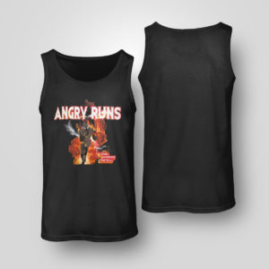 Unisex Tank Top Angry Runs T Shirt Nfl T shirt