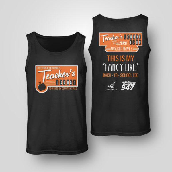 Unisex Tank Top Walker Hayes Merch shirt Teacher Lounge T Shirt
