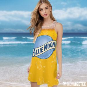 Blue Moon Beer Costume Maxi Dress