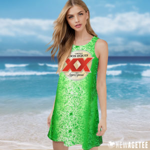 Dos Equis Beer Costume Maxi Dress