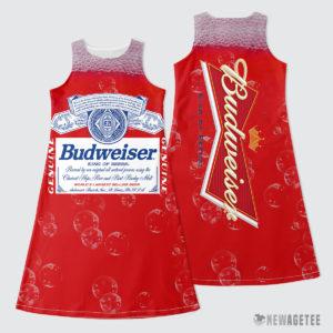 Budweiser Beer Costume Maxi Dress