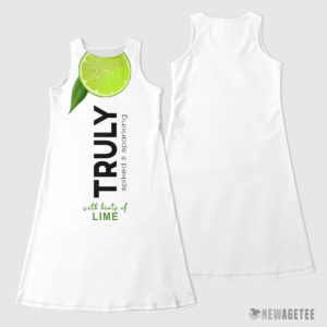 TRULY Can Lime Hard Seltzer Costume Maxi Dress