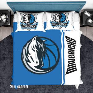 Bedding Set Dallas Mavericks NBA Basketball Duvet Cover and Pillow Case Bedding Set