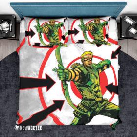 Bedding Set Green Arrow Weird Science DC Comics Duvet Cover and Pillow Case Bedding Set