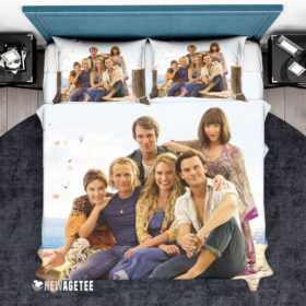Bedding Set Mamma Mia Here We Go Again Movie Duvet Cover and Pillow Case Bedding Set
