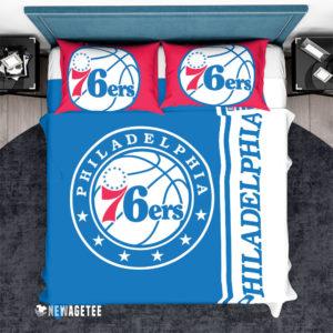 Bedding Set Philadelphia 76ers NBA Basketball Duvet Cover and Pillow Case Bedding Set