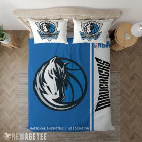Bedding Sheet Dallas Mavericks NBA Basketball Duvet Cover and Pillow Case Bedding Set