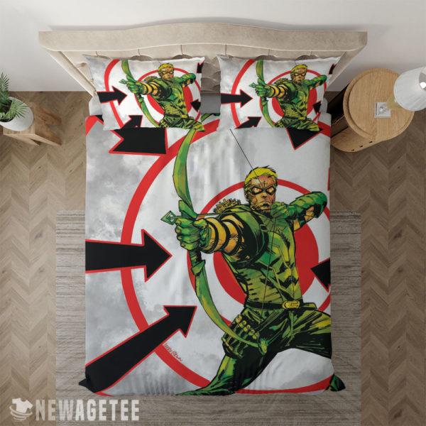 Bedding Sheet Green Arrow Weird Science DC Comics Duvet Cover and Pillow Case Bedding Set