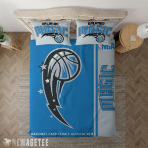 Bedding Sheet Orlando Magic NBA Basketball Duvet Cover and Pillow Case Bedding Set