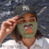 Cloth Face Mask Angel Marie pirate Treasure Island face mask