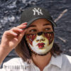 Cloth Face Mask Carnival Mardi Gras Face Mask