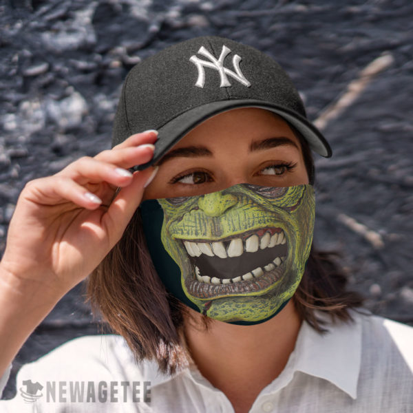 Cloth Face Mask Frankenstein Face Mask Halloween costume